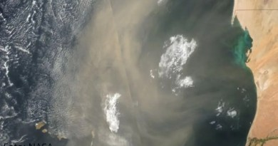 Nube de polvo proveniente de África sin problemas graves para México