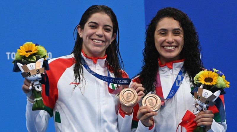 Alejandra Orozco y Gabriela Agundez ganan bronce en clavados sincronizados