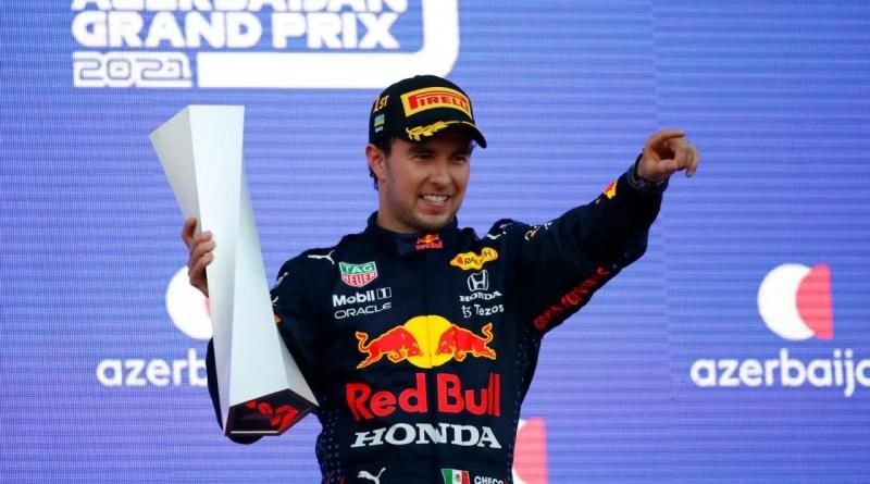 Checo Pérez y sus podios en Fórmula 1