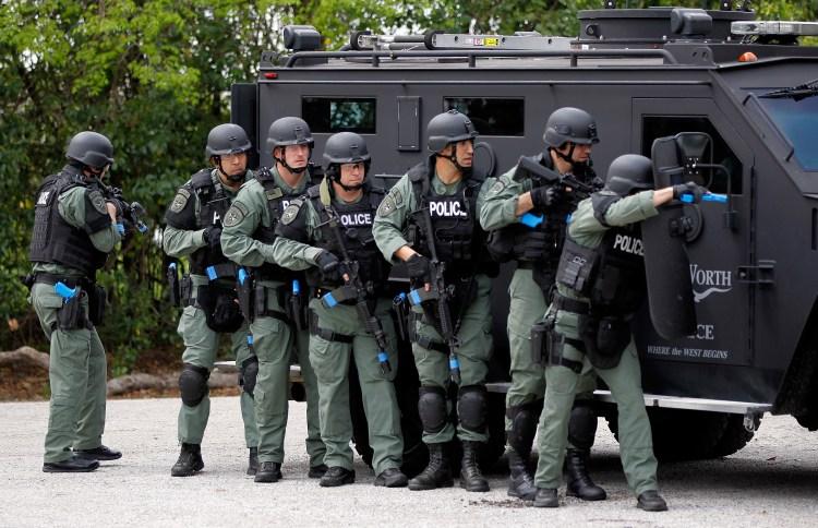 Carl Edwards Gets Schooled By Fort Worth SWAT Team