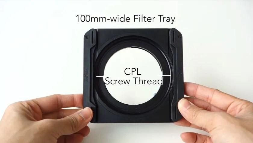 Venus Optics Laowa Lens 老蛙鏡頭 12mm 廣角鏡專用 100mm 方片濾鏡支架