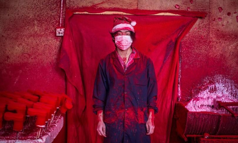 Мастерская Деда Мороза, на самом деле, находится в 300 километрах от Шанхая! Источник фото: theguardian.com