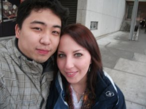 One of our first photos together.