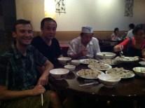 """Dumpling festival """"family"""" dinner"""