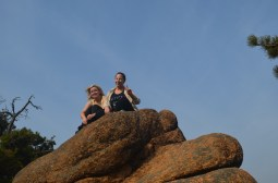 We liked climbing things