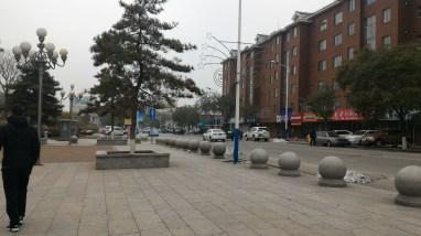 Outside Liaoyang Museum