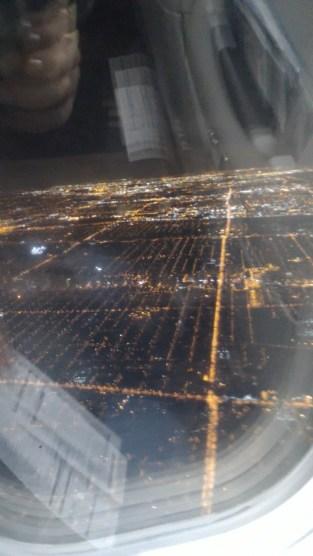 Toronto arrival
