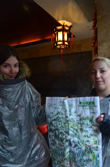 Our soggy map and soggy selves