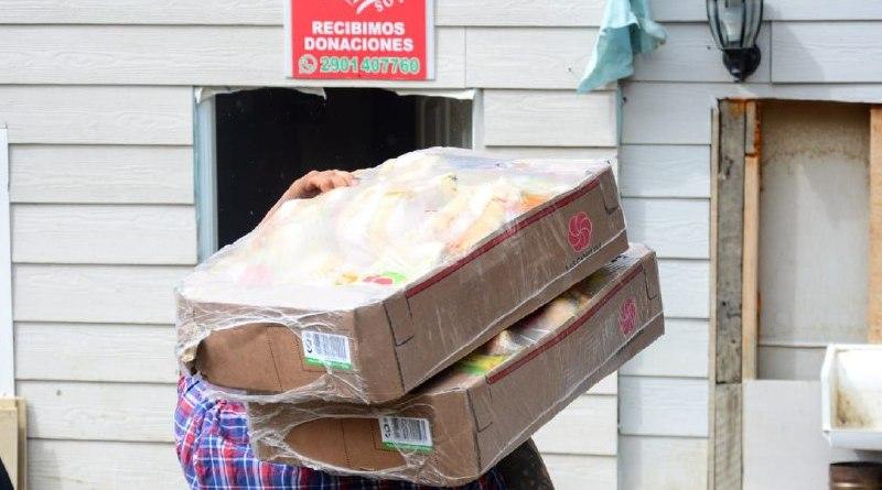 La Municipalidad de Ushuaia inició el reparto de cortes de carne y verduras a Comedores y Ollas Populares