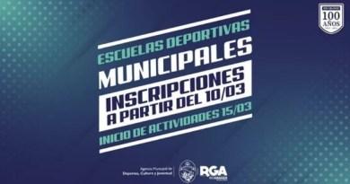 Río Grande: Hoy inician las Inscripciones a las Escuelas Deportivas Municipales