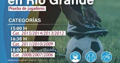 El Club Atlético River Plate en búsqueda de Talentos Riograndenses
