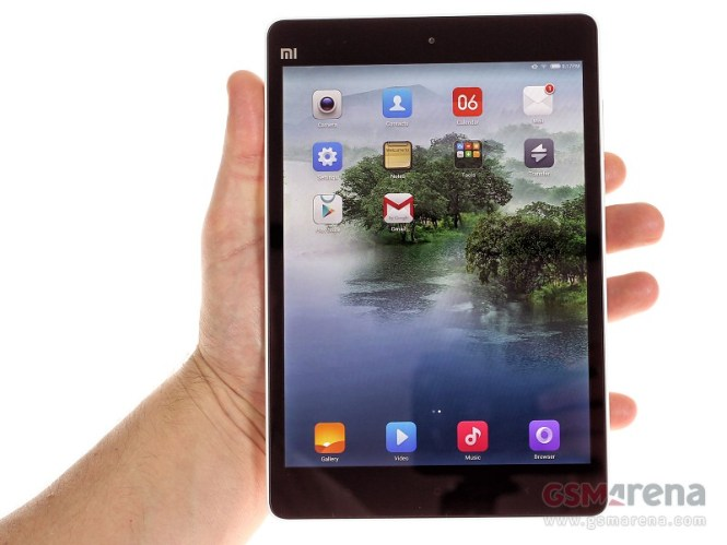 Xiaomi Mi Pad 7.9 Detail Review : New Comer