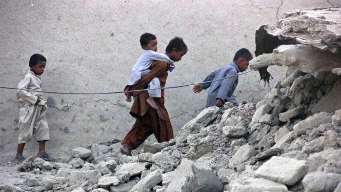 Wow! Ada Pulau Baru yang Muncul karena Gempa Pakistan!