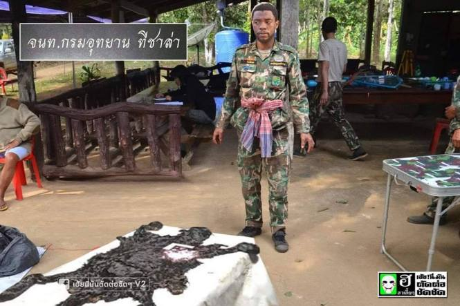 7. Black Panther kerja jadi tentara cuy!