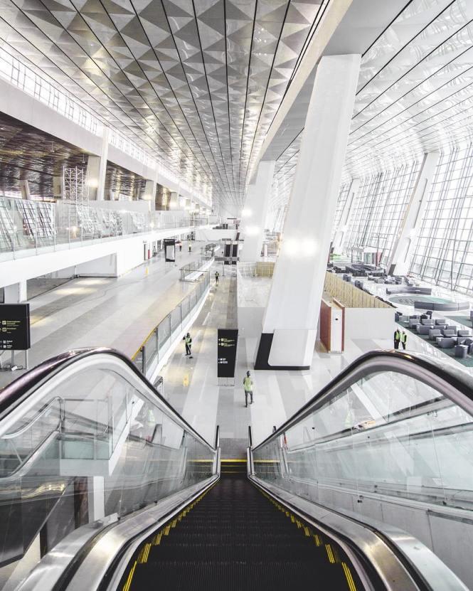 Foto-Foto Terminal 3 Ultimate Bandara Soekarno-Hatta Terbaru! (8)