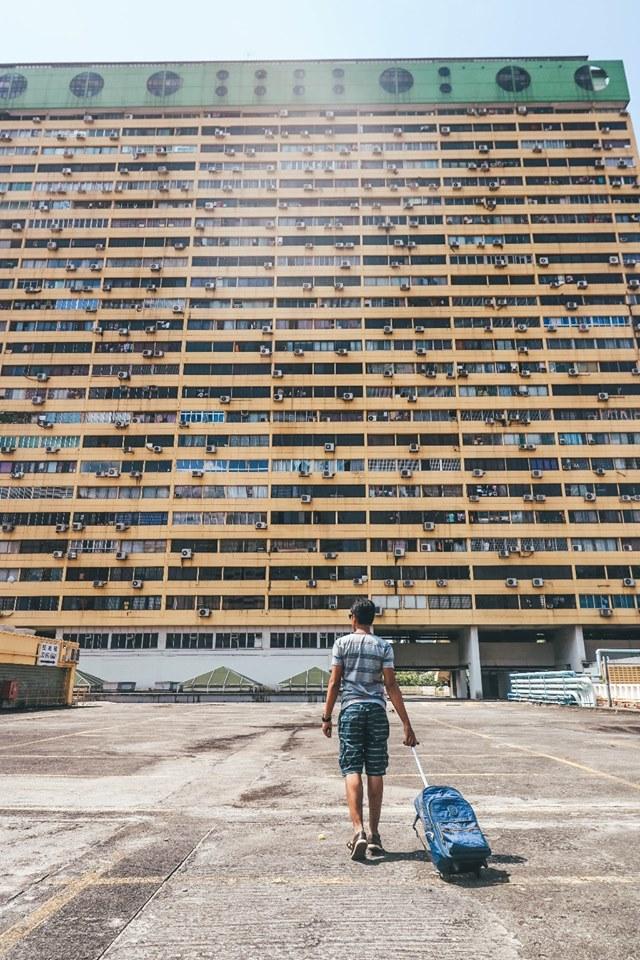 Tempat wisata Singapura gratis : People's Park Complex