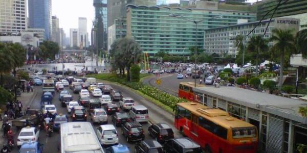 Rute Alternatif Jalan Thamrin - Jalan Sudirman Jakarta Untuk Sepeda Motor