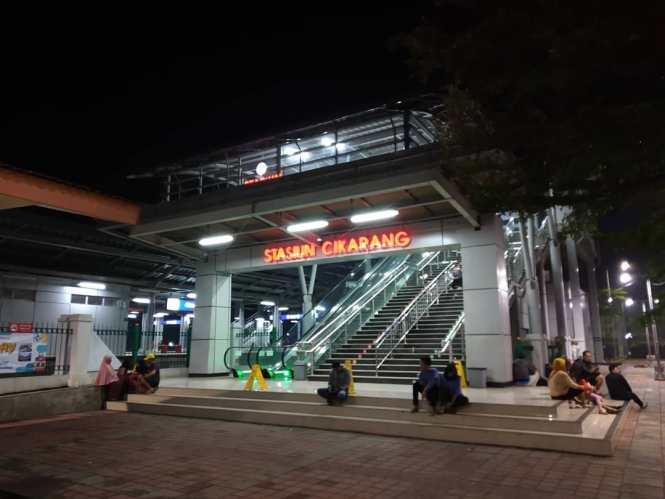 Jadwal KRL Cikarang Jakarta Kota Terbaru Terupdate