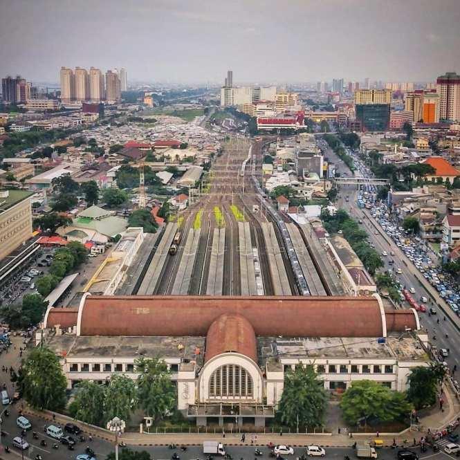 Jadwal KRL Commuter Line Cikarang Jakarta Kota