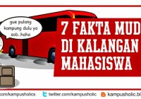 7 Fakta Mudik Unik Di Kalangan Mahasiswa