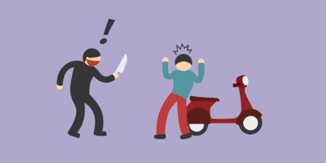 5 Modus Kejahatan Yang Sering Dialami Pengendara Sepeda Motor