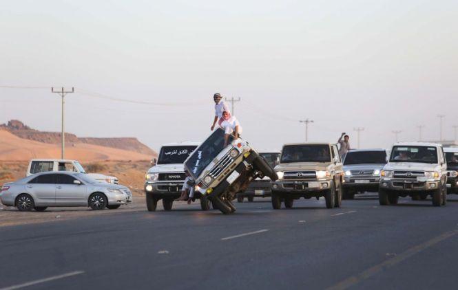 Olahraga Pemuda Arab Saudi Jaman Sekarang