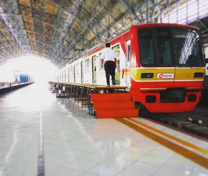 KRL Commuter Line Jakarta Relasi Stasiun Jakarta Kota ↔ Stasiun Tanjung Priok
