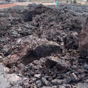 Eingestürzte Vulkantube Todoque
