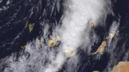 Gewitterfront La Palma