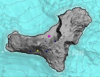 El Hierro Vulkan Grafik