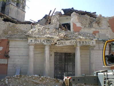 L'Aquila Erdbeben 2009