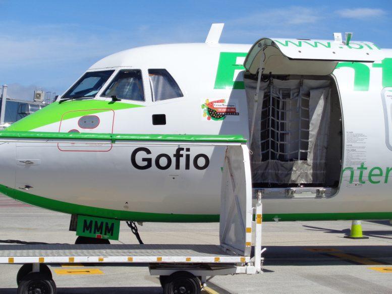 Binter Flugzeug