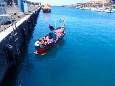 Fischerboot in La Restinga