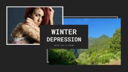 Dunkel und Hell - Winterdepression