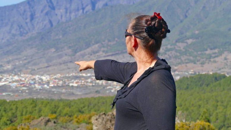 Blickrichtung Los Llanos de Aridane