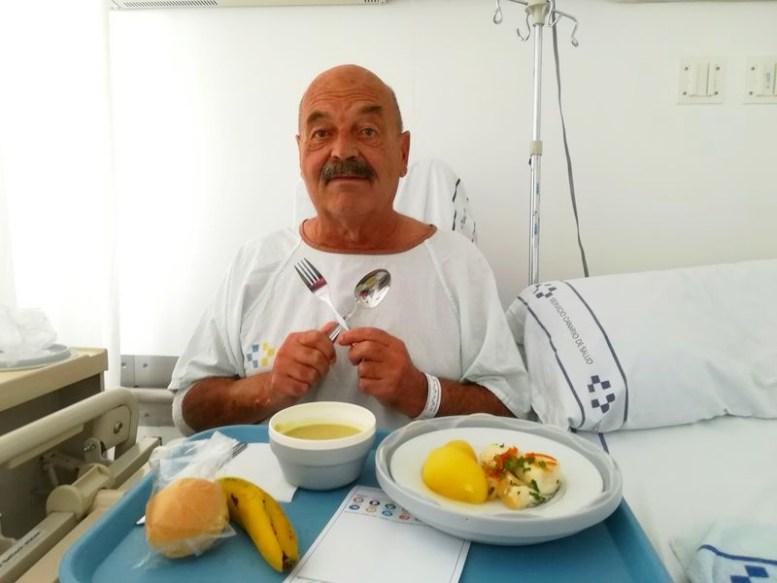 Hospital Mittagessen - COVID-19