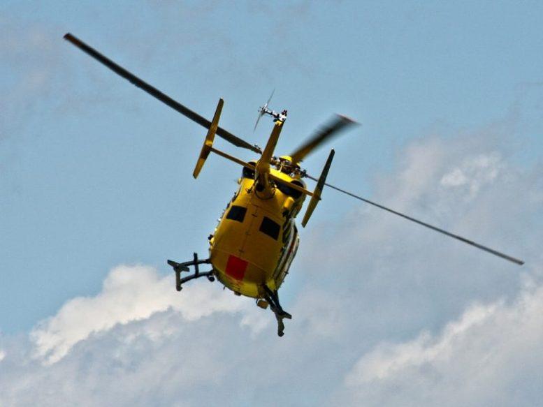Helikopter - Herzinfarkt
