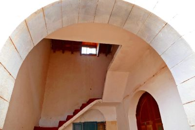Turmaufgang - Herrschaftliche Villa Winter