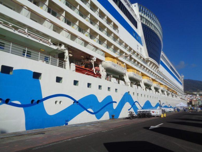 Kreuzfahrtschiff - Corona-Test