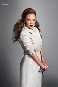 Leah Remini's Exclusive Photo Shoot with Lapalme Magazine ...