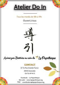 Activités - DoIn @ La Papothèque