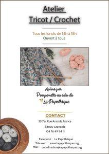 Activités - Atelier Tricot Crochet @ La Papothèque