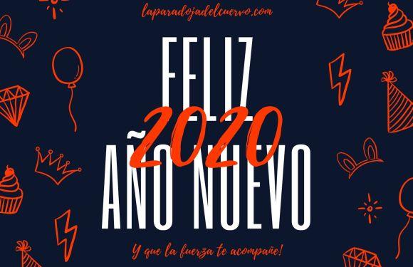FELIZ AÑO NUEVO 2020!