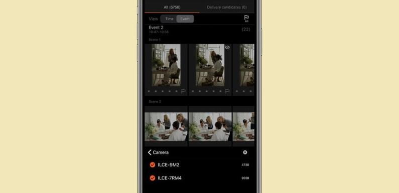 Visual Story: la nueva app desarrollada por Sony para depuración de imágenes para fotógrafos de eventos