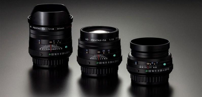 HD Pentax-FA 21mm F1.8 Limited, 43mm F1.9 Limited y 77mm F1.8 Limited: Ricoh renueva tres de sus mejores objetivos de colección