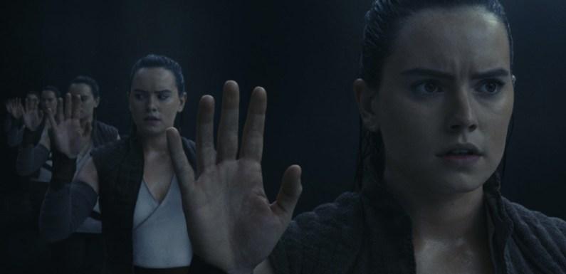 Por qué la escena de los espejos de 'Star Wars: Los últimos Jedi' es un momento de autodeterminación para Rey