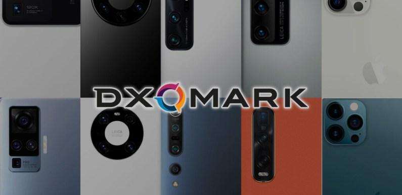 Las mejores 10 cámaras móviles del primer tercio de 2021 según el ranking de DxO Mark