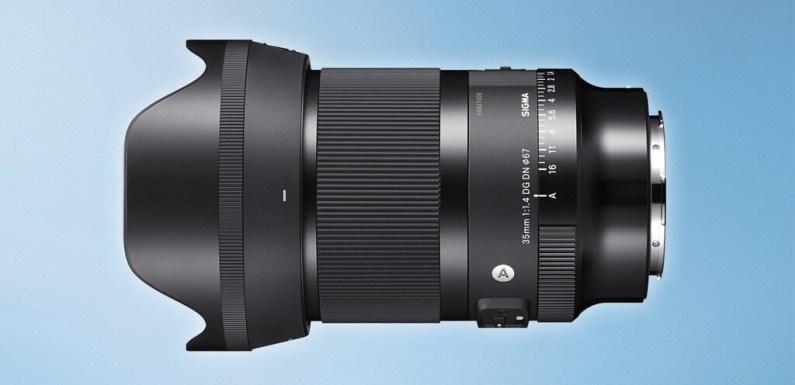 Sigma 35mm F1.4 DG DN Art, «el clasico renace» diseñado ahora para cámaras sin espejo de formato completo con montura L y Sony E