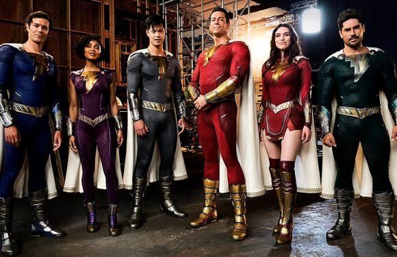 'Shazam 2': La primera imagen de la familia de superhéroes confirma una baja en el reparto