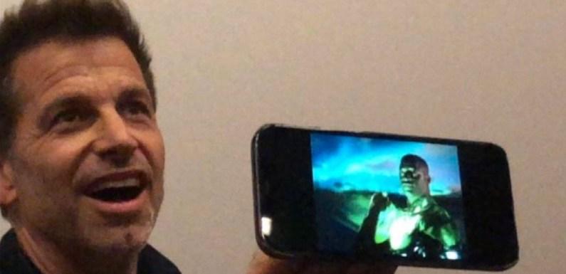 'La Liga de la Justicia de Zack Snyder' casi se cancela tras una pelea por el cameo de Linterna Verde